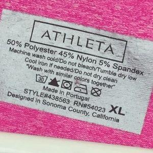 Athleta Tops - Athleta Women's Fastest Track Tshirt Pink Top XL